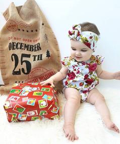 fb7c5f599 Pañalero Rosas Rojas Hermosa Ropita De Bebe Moda Para Niña