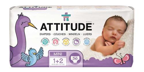 pañales attitude  36 unidades