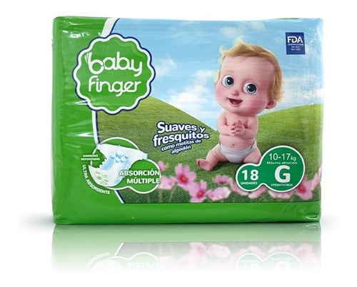 pañales baby finger talla p, m, xg y xg  super oferta