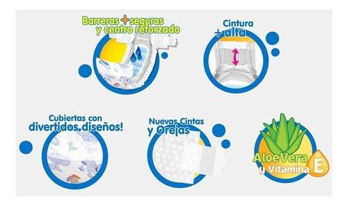 pañales babysec baby sec ultraprotect etapa 3/g x 100 und