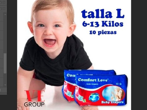 pañales desechables para bebes importado confort  love