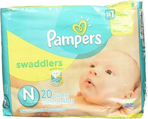pañales desechables,pampers recién nacido swaddlers 240 ..