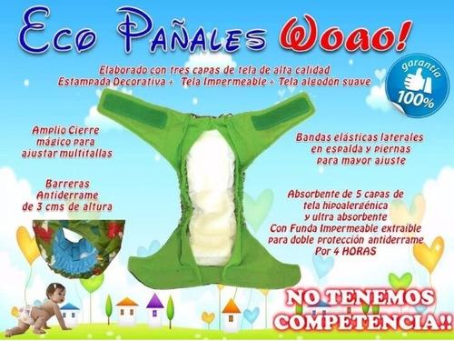 pañales ecologicos +1 absorbente