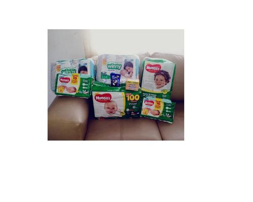 pañales ecológicos  absorbentes importados