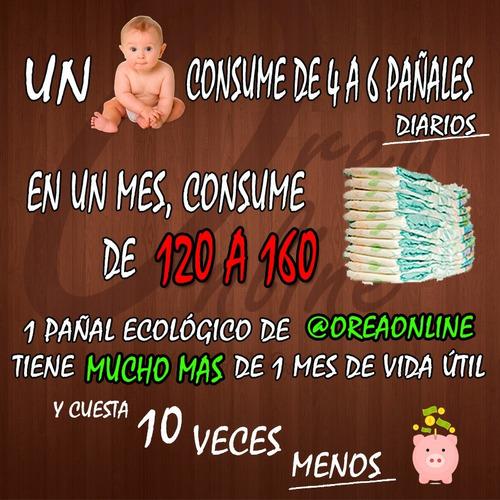 pañales ecológicos de alta calidad (+absorbente) rn a g