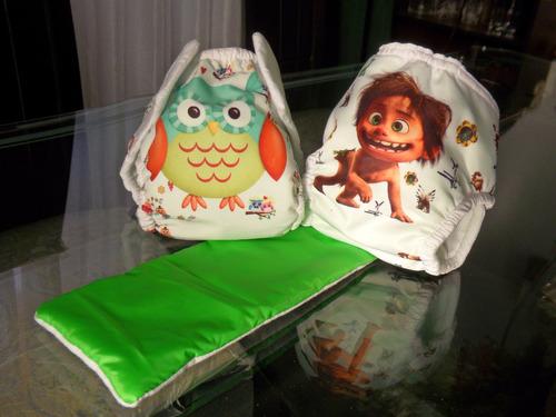 pañales ecológicos de alta calidad (incluye absorbente)