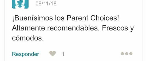 pañales ecologicos desechables parents choice
