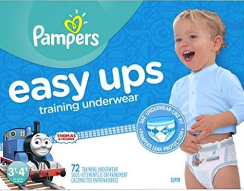 pañales pampers easy ups training