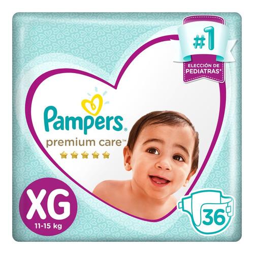 pañales pampers premium care 3 packs - todos los talles