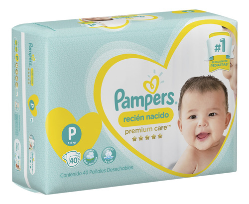 pañales pampers premium care suave hiperpack p m g xg xxg