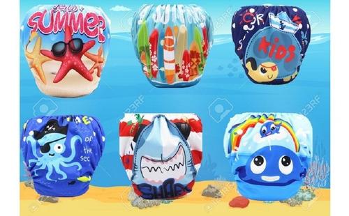 pañales para piscina bebe reutilizable natación envio gratis