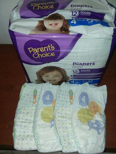 pañales parent's choice talla 4 ( xg ) 88 und. ver descrip..