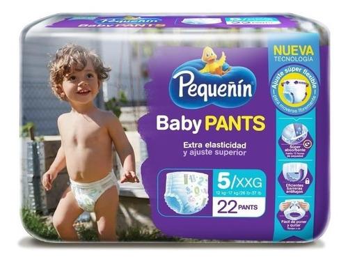 pañales pequeñin babay pants 5 x - unidad a $1180