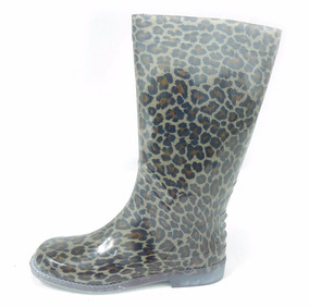 Panam Bota Para Lluvia Leopardo Transparente 010019 0309