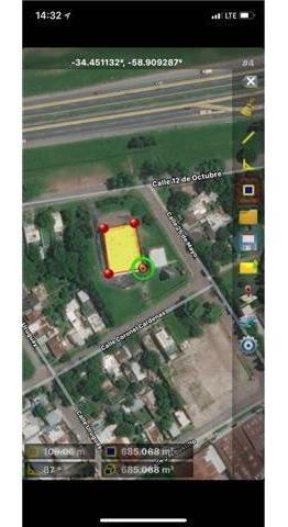 panam - colectora km 53 100 - pilar - depositos/industrias galpones - alquiler