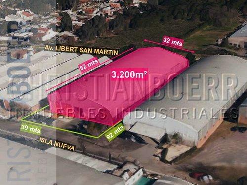 panam y r197 - deposito de 2.300m con seguridad