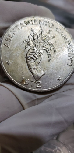 panamá 1972 5 balboa plata