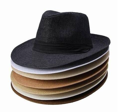 panamá masculino chapéu · chapéu estilo panamá preto tipo palha aba média  masculino ebf67316d33