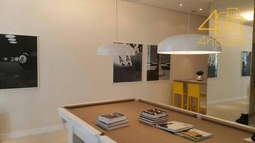 panamerica brickell - rua bento branco de andrade - apartamento com 2 dormitórios à venda, 68 m² - ap2130