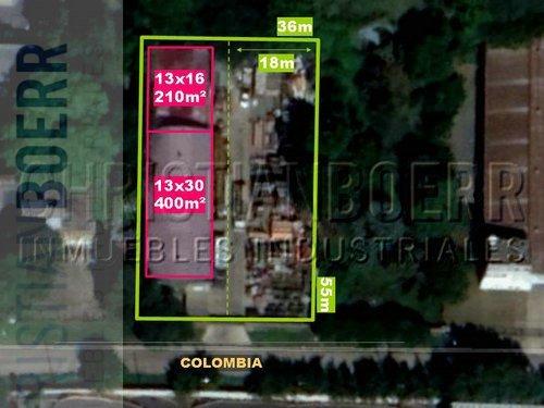 panamericana y r197 - 2.000m² de terreno + 600m cub -