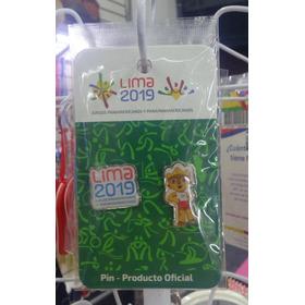 Panamericanos Lima 2019 - 01 Pin Doble De Milco Y Lima2019