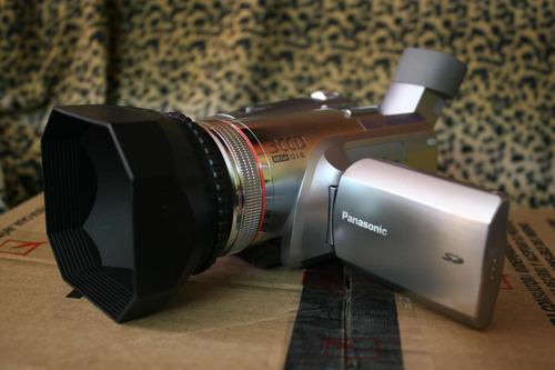 panasomic gs500 3ccd + panasonic gs90 mini dv 2x1