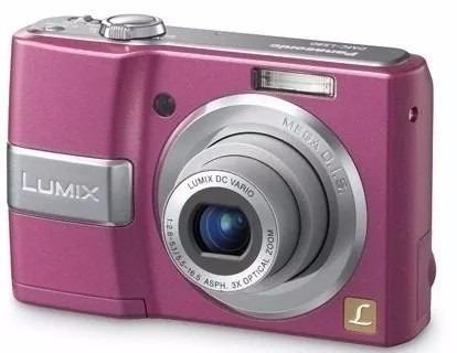 panasonic camara digital lumix ls80 rosa articulo seminuevo