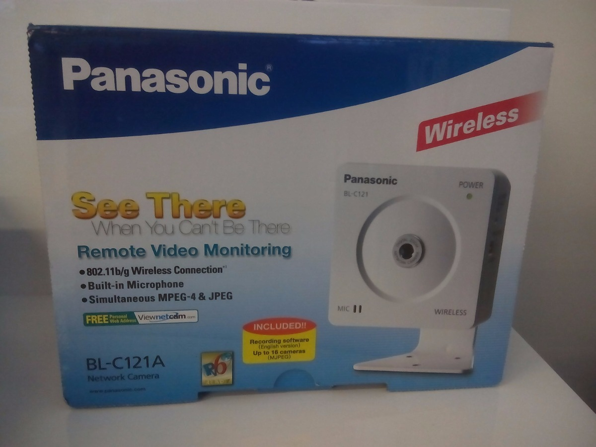 Panasonic BL-C121A Network Camera Windows 8 X64 Driver Download