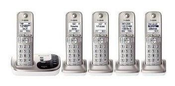 panasonic - dect 6.0 teléfono inalámbrico