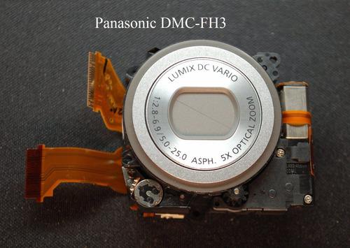 panasonic dmc-fh3 dmc-fs9 lente repuesto cámara zoom óptico