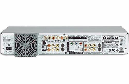 panasonic dmr e500h  combo hdd/dvd modelo de 220v