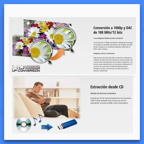 panasonic dvd-s700 reproductor dvd hdmi cd mp3 dolby digital