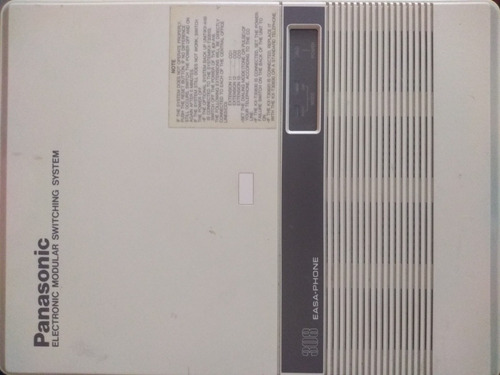 panasonic electronic modular switching system 308 easy-phone