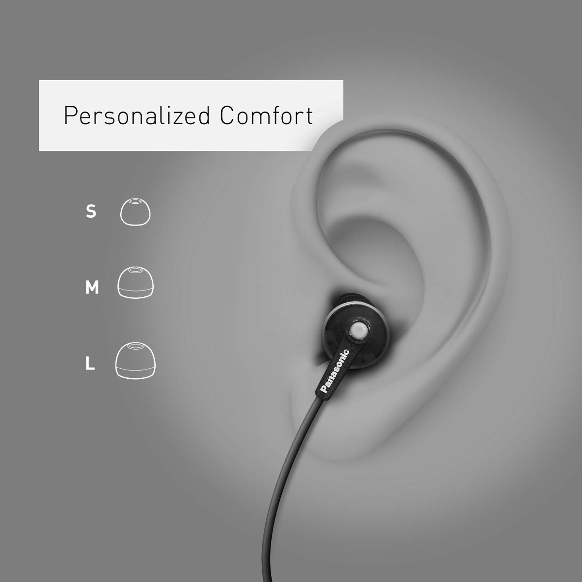 de5f04157c2 panasonic ergofit in- oreja auriculares auriculares con mic. Cargando zoom.