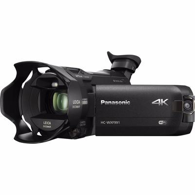 panasonic hc wxf991k 4k 20x zoom con camara doble