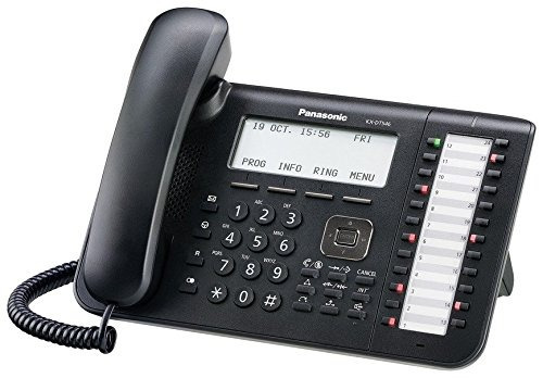 panasonic kx-dt546 telefónico digital (negro)