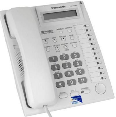panasonic kx-t7730 telefono inteligente display ml program