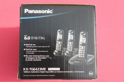 panasonic kx-tg6423me teléfono dect 6.0 depósito bancari