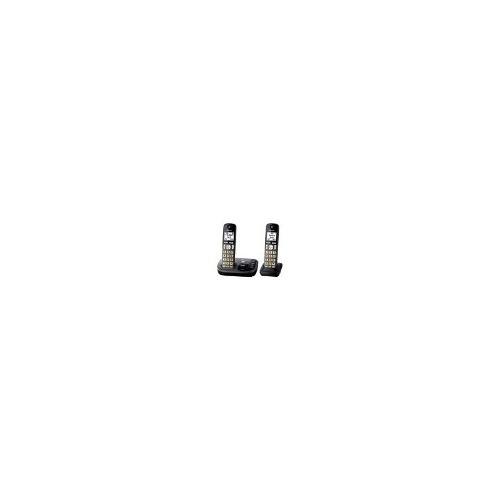 panasonic - kx-tgd222m dect 6.0 sistema de teléfono inalámbr