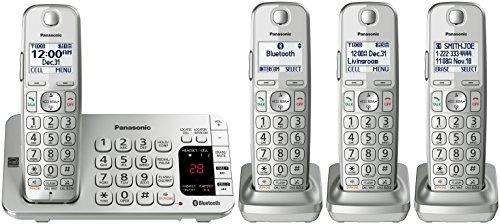 panasonic kx-tge474s link2cell bluetooth teléfono inalámbri
