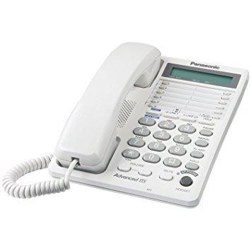 panasonic kx-ts208w 2-línea sistema de teléfono integrado,