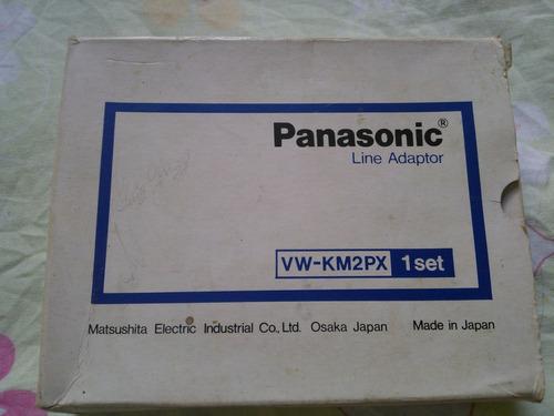 panasonic line adaptador vw-km2px 1set