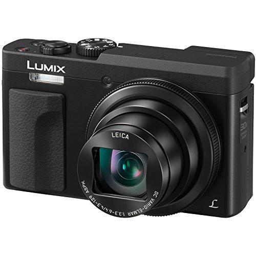 panasonic lumix dc-zs70 4k cámara digital wi-fi (negro) con