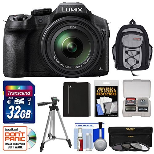 panasonic lumix dmc-fz300 4k cámara digital wi-fi con 32 gb