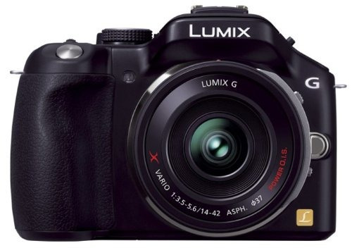 panasonic lumix dmc-g5x-k g5 cámara digital compacta de len