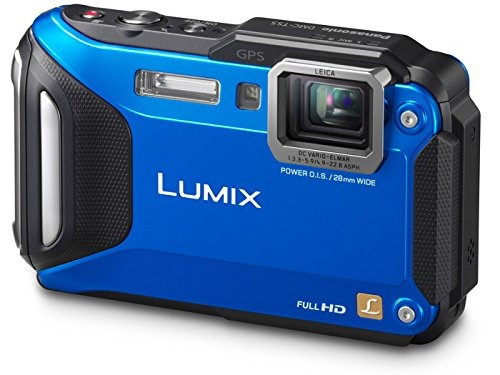 panasonic lumix dmc-ts5a 16.1 mp cámara digital resistente