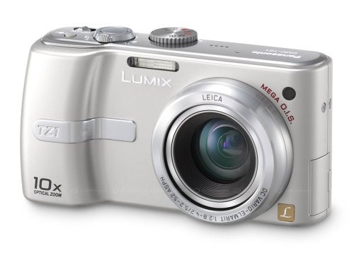 panasonic lumix dmc-tz1s cámara digital compacta de 5mp con