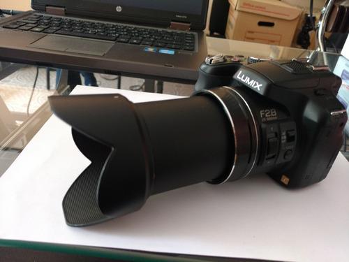 panasonic lumix fz200, sin detalles, completita.