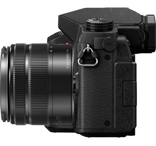 panasonic lumix g7 black cámara 4k oled wi-fi 16mp 14-42mm