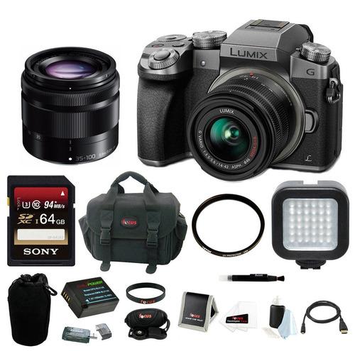 panasonic-lumix-g7-camera-kit-silver-with-14-42mm--35-100mm